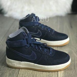 Nike Air Force 1 HI SE Binary Blue W. AUTHENTIC